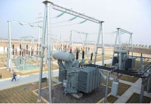 China Manufacture Excellent Quality 220kv Electric Substation Steel Structure pictures & photos