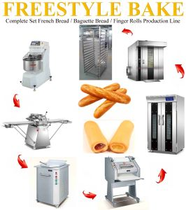 Complete Set Bakery Equipment Oven For Baguette or French Bread Line (FBL-320)