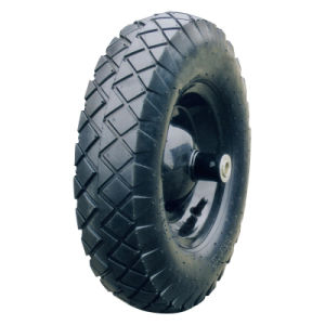 "16 Inch 16""X4.00-8 Tubeless Rubber Wheel pictures & photos"