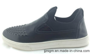 PU Casual Slip-on Shoes for Men pictures & photos