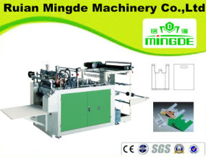 Two Line Heating Sealing Heat Cutting Bag Making Machine for India