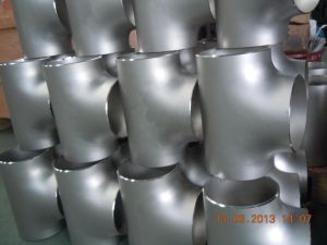 Pipe Fitting Butt Weld Stainless Steel Equal Tees