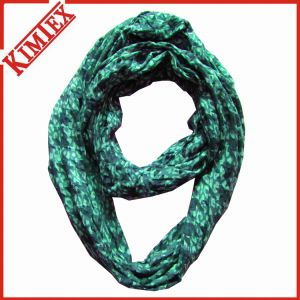Wholesales Polyester Fashion Printing Rayon Infinity Scarf pictures & photos