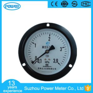 100mm Back Type Lower Connection Manometer with Flange pictures & photos
