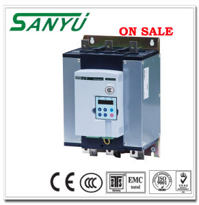 Sanyu Economic Without by-Pass Connector Soft Motor Starter pictures & photos