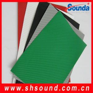 High Quality Auto Carbon Fiber Car Wrap Vinyl Film pictures & photos
