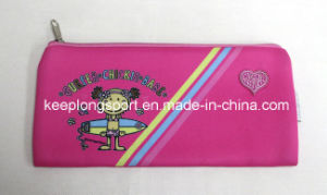 Pink 2.5mm Neoprene Pencil Cases for Children