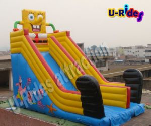 Sponge bob Inflatable Amusement Park Slide Inflatable Bouncer Slide for Kids pictures & photos