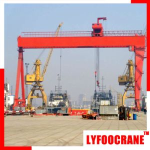 50 Ton Mobile Gantry Crane for Lsubway Construction pictures & photos