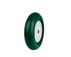 Green PU Foam Lown Mower Tire pictures & photos