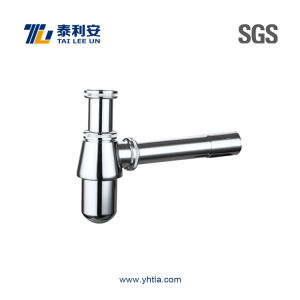 Brass Bottle Siphon for Bathroom (T1062)