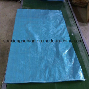 Cheap Blue PP Woven Sack for Packing Rice, Fertilizer, Flour, Coffee Beans