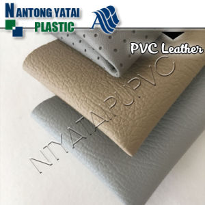 Abrasion-Resistant Car Upholstery PVC Faux Leather