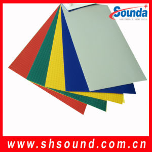 PVC Laminated Tarpaulin for Truck Cover (STL1014) pictures & photos