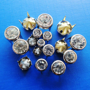 Rhinestone Prong Snap Buttons for Clothing pictures & photos