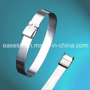 D Shape Ring Type 304 316 Stainless Steel Cable Ties pictures & photos