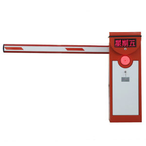 Car Parking Barrier Gates with LED Light pictures & photos