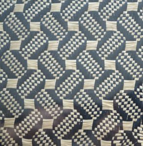 3k Plain and Twill Carbon Fiber Woven with Pet Metallic Blue, Sliver, Red  Carbon Fiber Woven Polyester Fabric