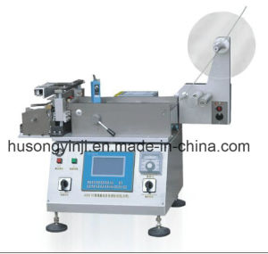 Ribbon Label Heat and Cold Cutting Machine pictures & photos