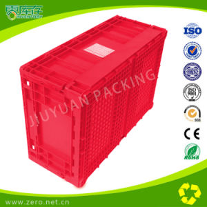 Folding Box Plastic Crate for Supermarket Useage Storage and Transport