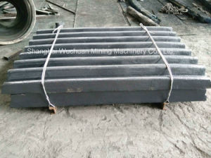 Crusher Parts Jaw Liners for Sandvik (JM1208) pictures & photos