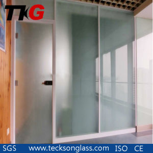 4mm Acid Etched Glass for Sliding Door pictures & photos