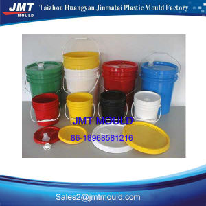 Plastic Injection Round Bucket Mould