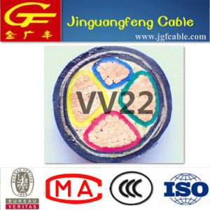 PVC Insulation and Sheath Power Cable Steel Tape Armored