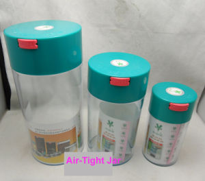 Vacuum container Air-Tight Plastic Bottle for Tea Coffee Bean pictures & photos