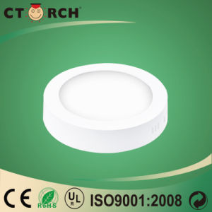 Ctorch 2017 12W Surface Round Aluminum LED Panel Light pictures & photos