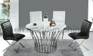 Metal Furniture Stainless Steel Dining Table (A6021)