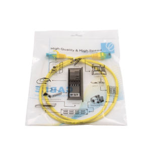 Patch Cord Cat5e UTP 7*0.2mm Copper Fluck Pass Yellow PVC pictures & photos