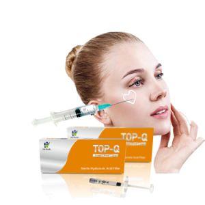 Top-Q Bdde Cross Linked Technology Syringe Hyaluronic Acid Dermal Filler  Injection 1ml Super Fine