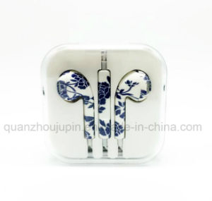 OEM Print Phone Headphone Earphone with Microphone for Promotional Gift