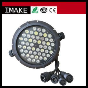 54*3W RGBW Waterproof LED PAR Can Light