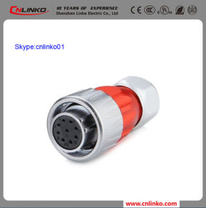 Clinko Brand 9pin Terminal Connector Power Application Metal Connector Female Gender Plug pictures & photos