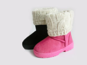 Girls Winter Warm Snow Boots pictures & photos