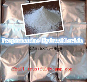 China Supply Anti-Pain Proparacaine Hydrochloride CAS: 5875-06-9without Side Effective pictures & photos