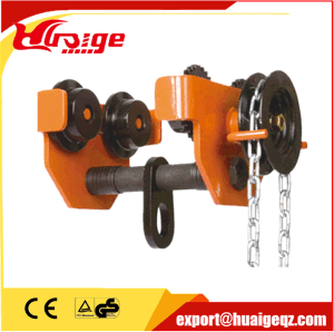 High Quality Geared Hoist Trolley pictures & photos