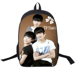New Junior High School Students′ School Bag Star Cartoon Character Male and Female Leisure Backpack Backpack pictures & photos