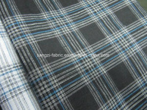 Cotton Linen Yarn Dyed Check Fabric for Shirt pictures & photos