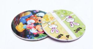 Mini Round Shape Plastic Card USB Accept Logo Customized pictures & photos