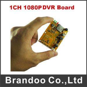 1080P Full HD Mobile DVR Motherboards 1CH Mdvr Mian Boards