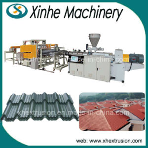 PVC/ASA/PMMA Glazed Roof Tile Extrusion Production Line/Extrusion Line