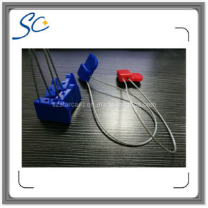 UHF RFID Seal Tag with Steel Wire for Goods Management