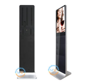WiFi Android LCD Advertising Display Screen, Indoor Floor Stand Digital Signage Player pictures & photos