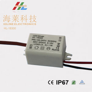 DC9-18V 3-5W Constant Current LED Driver pictures & photos