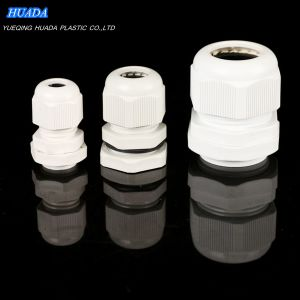 Nylon PA66 Waterproof Cable Glands with Rubber Seal and Nut