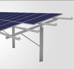 Steel Pile Ground Solar Mounting System for PV Station pictures & photos
