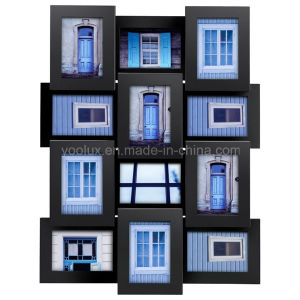 Plastic Multi Openning Home Decorative Collage Photo Frame